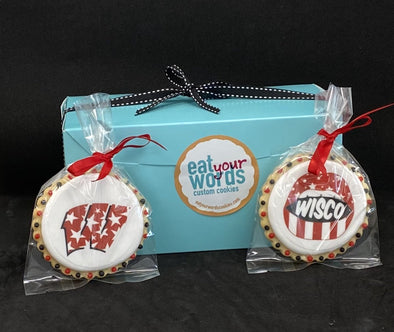 Gift-Boxed College Logo Cookies