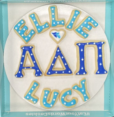 ADPi Custom Sorority Cookies
