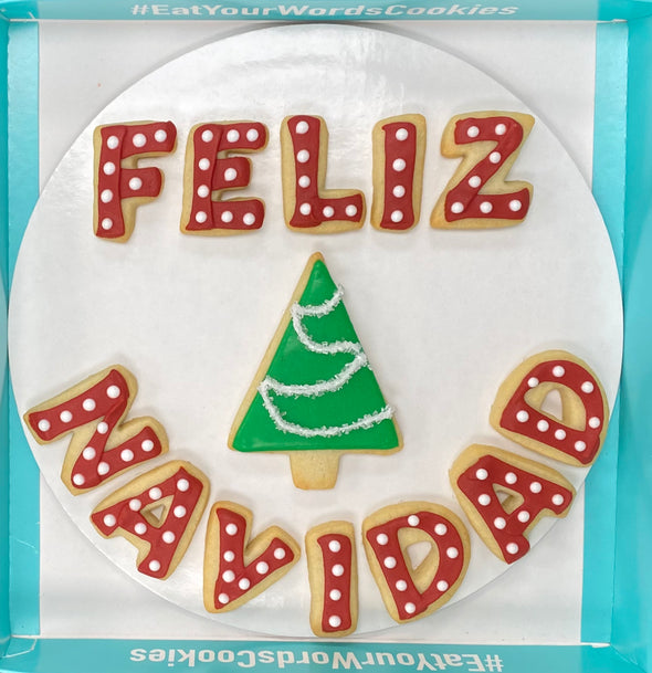NEW for 2020! Feliz Navidad Christmas Cookies