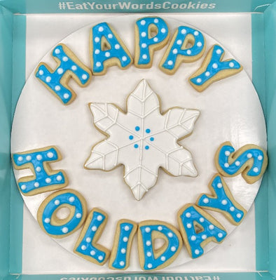 Happy Holidays Cookies