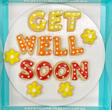 QuickShip: Get Well Soon Cookies