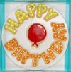 New: QuickShip Happy Birthday Cookies