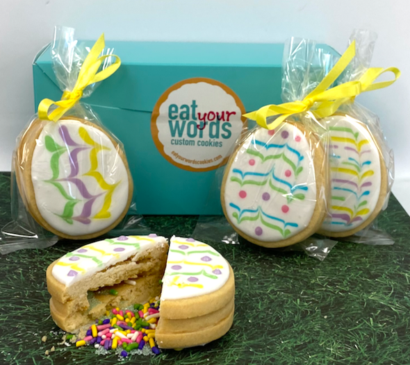 Easter Surprise Egg Cookies