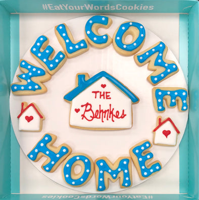 Personalized Welcome Home Cookies