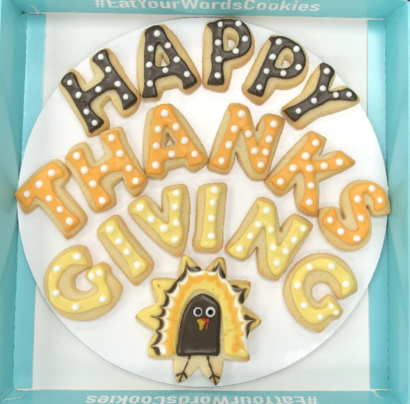 Happy Thanksgiving Cookies