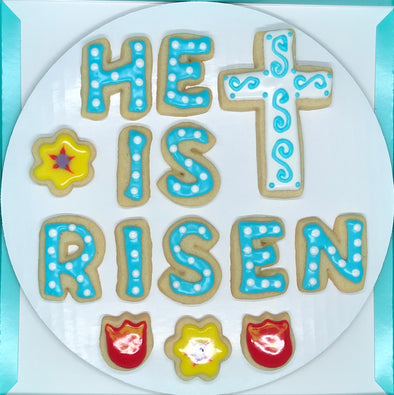 He Is Risen Easter Cookies