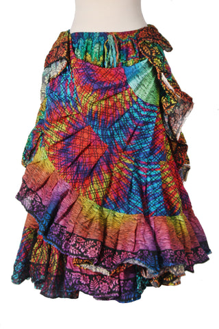 Digital print Skirt Rainbow Design