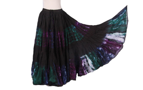 Christmas Skirt Black/green