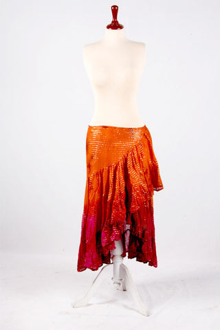 Lurex Wrapskirt