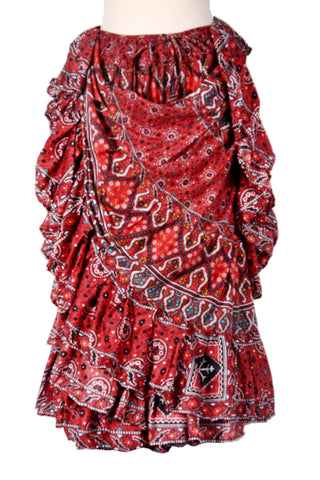 Digital print Skirt Ajrak