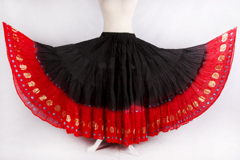 Bollywood border skirt
