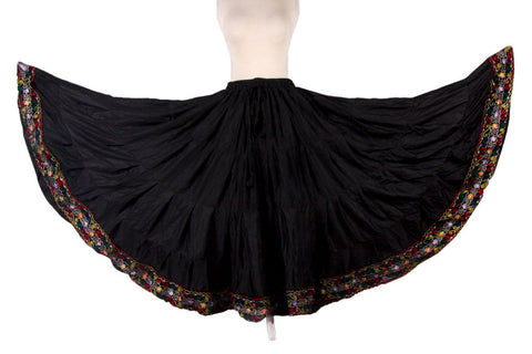Embroidered border Skirt