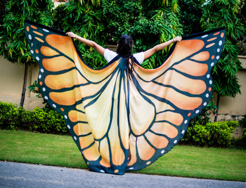 Butterfly Silk ISIS Wings Gold