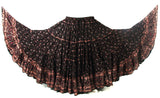 Block Print Skirt Majestic