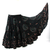 Block Print Skirt Bamboo