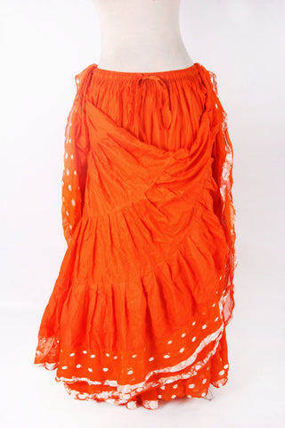 Aishwarya skirt orange