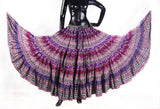 Digital Printed Skirt purple