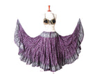 Jodha Maharani Skirt Purple