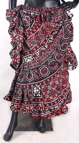 Block print Skirt 100% Cotton High quality