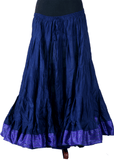 Padma Ashwarya skirt dark Blue