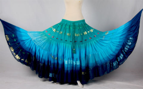 Bollywood skirt Teal