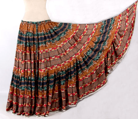 Digital Printed Skirt Desert