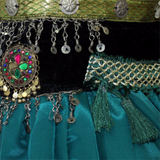Aishwarya bra belt set green