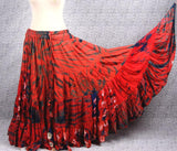 Jaipur Fusion skirt orange