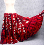 Jaipur Fusion skirt red