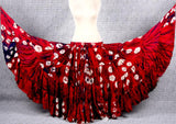 Fusion skirt red