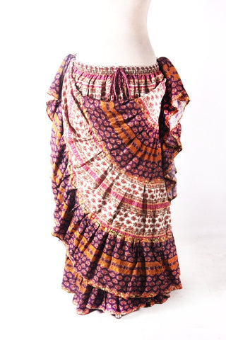 Digital Printed Skirt Bloom