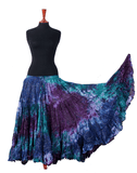 Lurex Marble Tye Dyed Batik skirt Beach