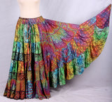 Multi Blockprint skirt 2