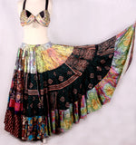 Patchwork Skirt Made From Block print Fabrics