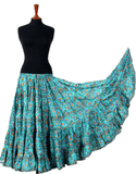 Digital print Skirt Peacock Eye 25 Yards 2020 Collection