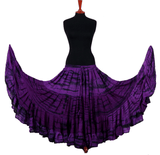 tiger stripe skirt purple/black 2020