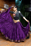 Padma Ashwarya skirt purple