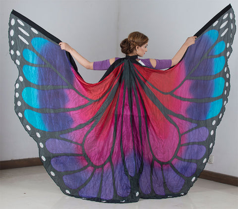 Butterfly Silk Isis Wings In Petite Size