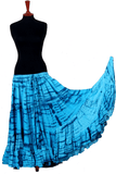 tiger stripe skirt turqouise/blue 2020