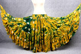 Jaipur Fusion skirt yellow green