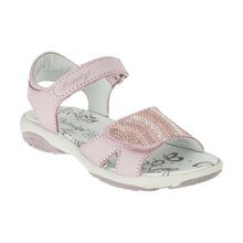 Primigi Girls Leather Beaded Rose Sandals