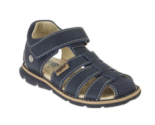 Primigi Boys Leather Sandals Navy