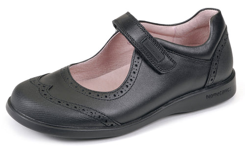 Biomecanics Brenda Girls Leather School Shoes