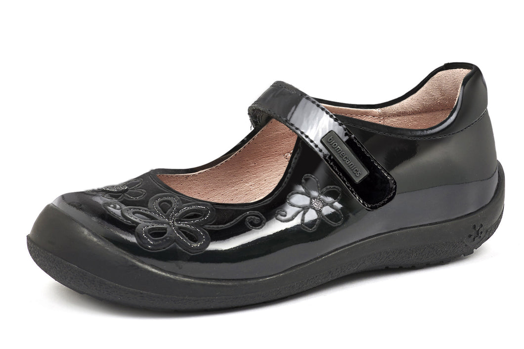 Biomecanics Girls School Shoes Mercedes Flores (Patent)