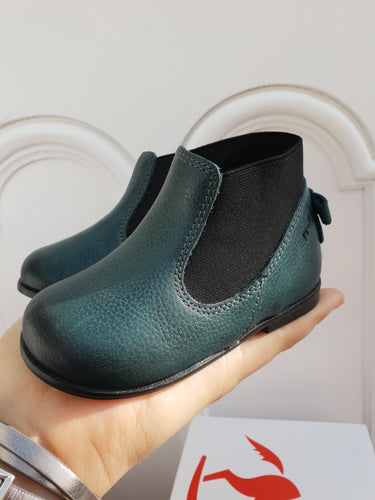 Emel Green Boots with bow