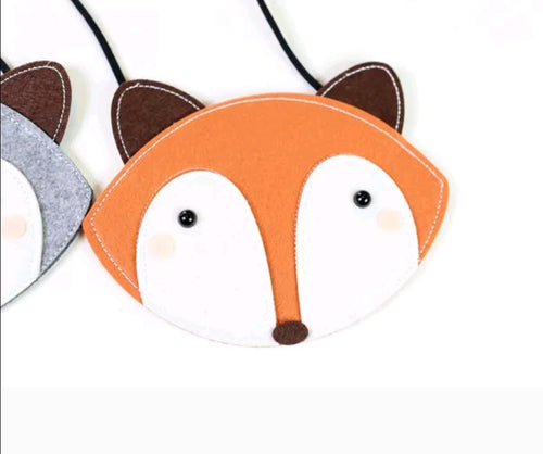 Orange Fox Bag
