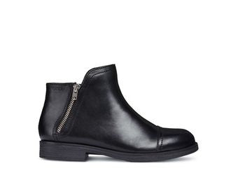 GEOX Agata Ankle Boots with a zip