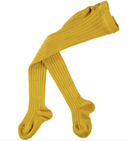Condor Childrens Tights - Curry Mustard
