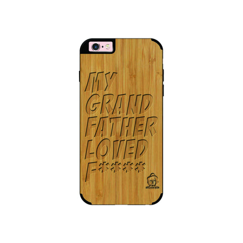 Bamboo Wood Sameer Fudd*** Edition For I phone 6/6s plus