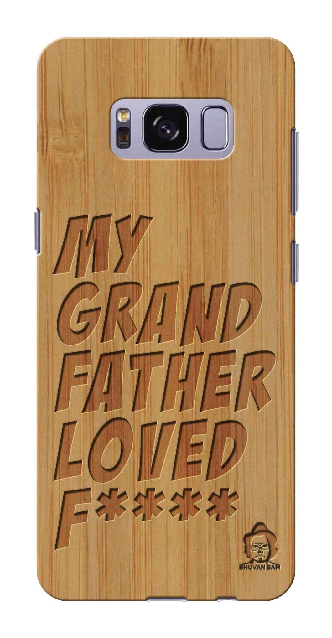 Bamboo Wood Sameer Fudd*** Edition for Samsung galaxy s8 plus
